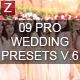 9 Pro Wedding Presets vol.6-Graphicriver中文最全的素材分享平台