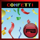 Confetti with depth and blur effect - ActiveDen Item for Sale