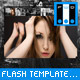 Flash Template Web Deep Linking