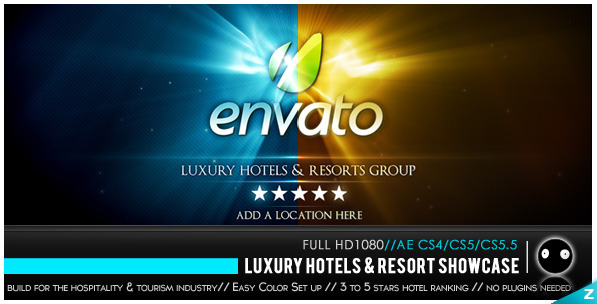 After Effects Project - VideoHive Luxury Hotels & Resort Showcase 849578