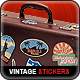 Vintage Travel Stickers - GraphicRiver Item for Sale