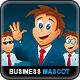 Young Business Man Mascot Creator Kit - GraphicRiver Item for Sale