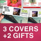 Magazine Cover Template (pack #3) - GraphicRiver Item for Sale