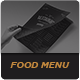 Elegant Food Menu 12 三折页-Graphicriver中文最全的素材分享平台