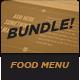 Food Menu Bundle 1-Graphicriver中文最全的素材分享平台