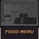 Elegant Food Menu 5-Graphicriver中文最全的素材分享平台