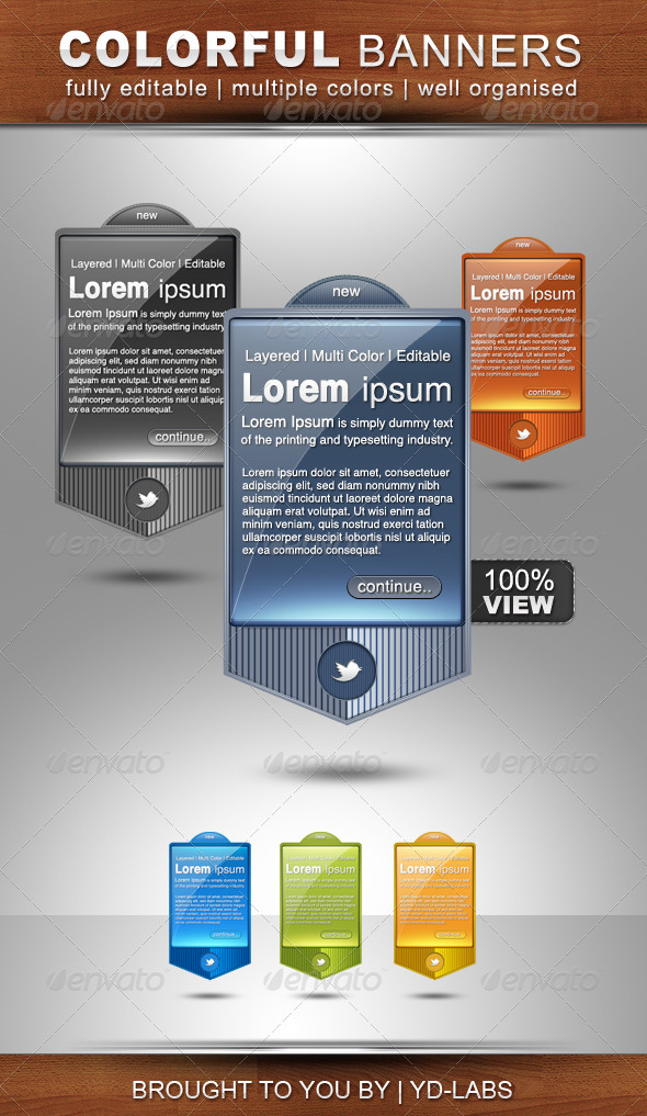 GraphicRiver Colorful Banners Part 2 861004