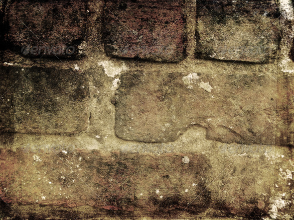 Grunge bricks background 7 - Stock Photo - Images