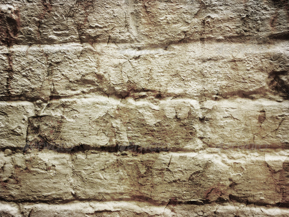 Grunge bricks background 11 - Stock Photo - Images