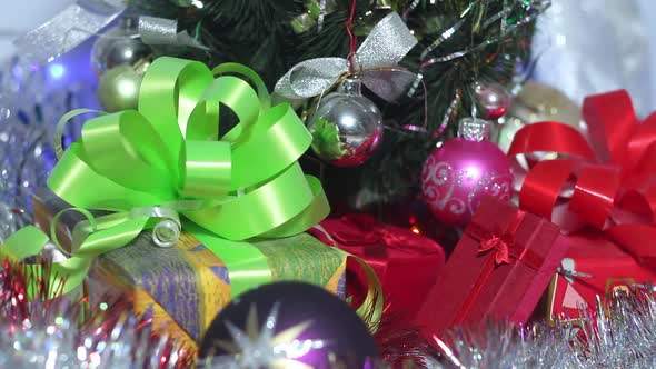 Beautiful Gifts Under The Christmas Tree
