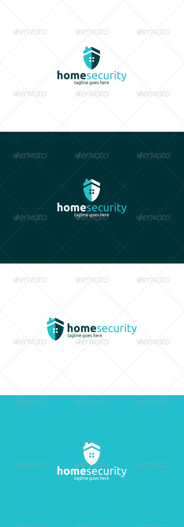 GraphicRiver Home Security Logo 8469859