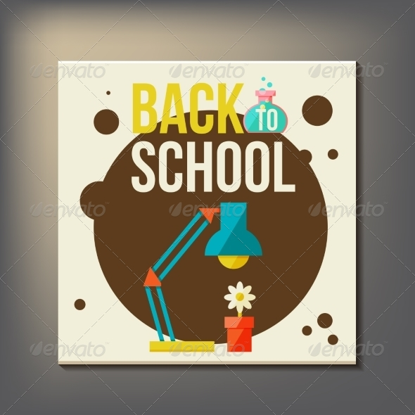 GraphicRiver Back to School Design Template 8469891