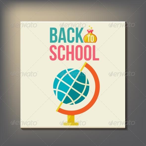 GraphicRiver Back to School Design Template 8469894