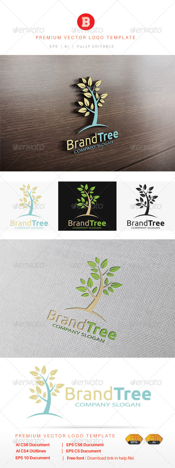 GraphicRiver Brand Tree 8469926