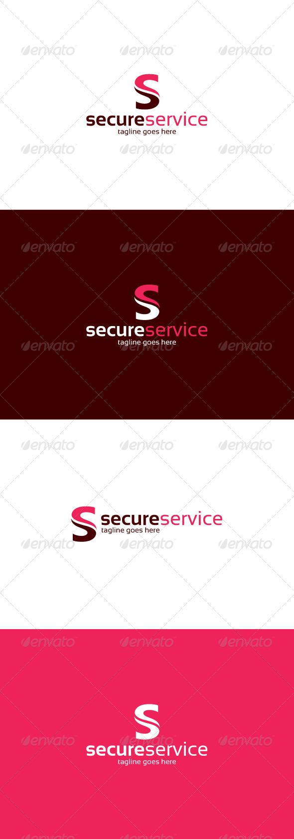 GraphicRiver Secure Service Logo Letter S 8470034