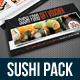 Sushi Restaurant Menu Bundle 01 - GraphicRiver Item for Sale