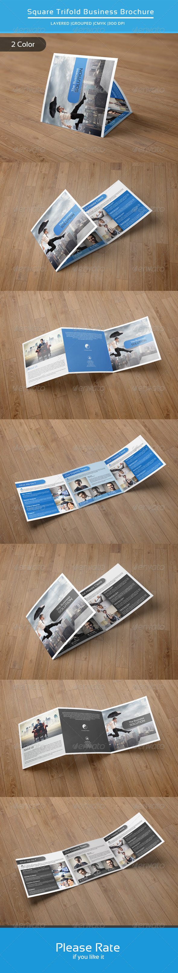 Square Trifold Business Brochure-V21