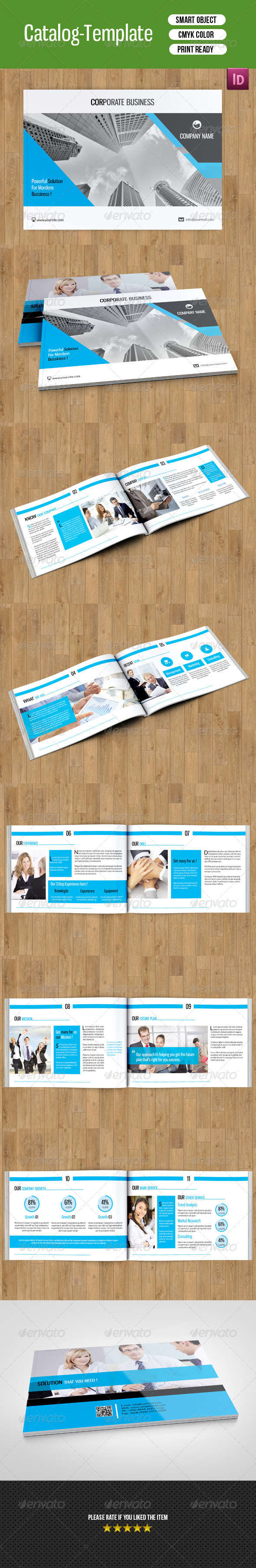 GraphicRiver Business Catalog Template-V32 8470059