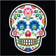 Mexican Sugar Skull - Polish Folk Art Style  - GraphicRiver Item for Sale