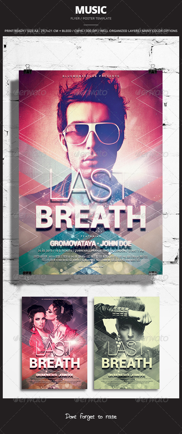 GraphicRiver Music Flyer Poster 11 8470109