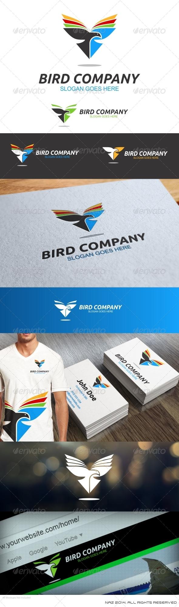 GraphicRiver Bird Company Logo 8470298