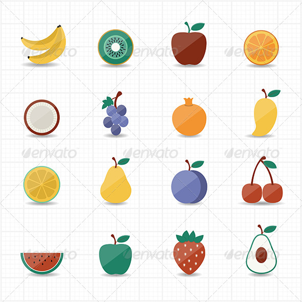 GraphicRiver Fruits Icon 8470318
