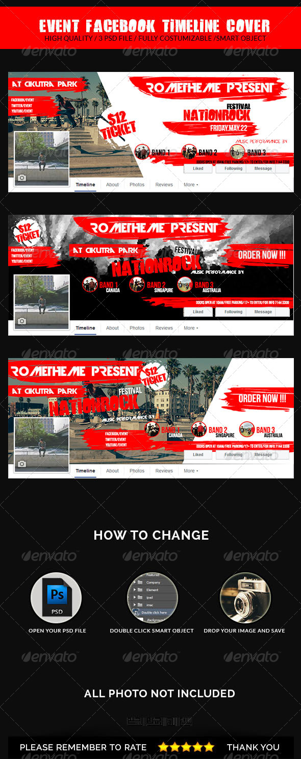 GraphicRiver Event Facebook Timeline Cover 8470012