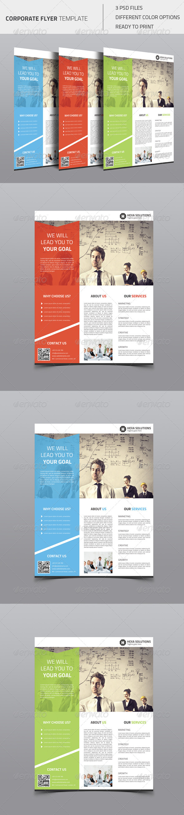 GraphicRiver Corporate Flyer 02 8470368