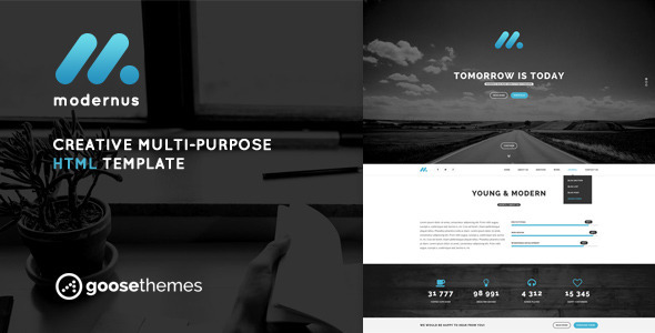 ThemeForest Modernus Creative Multi-Purpose HTML Template 8414533