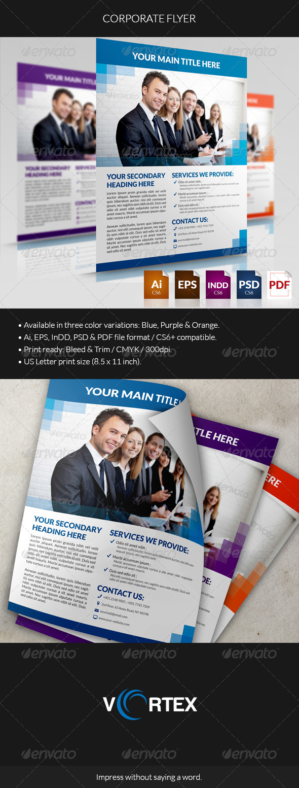 GraphicRiver Corporate Flyer 01 8470932