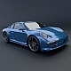 Porsche Carrera 911 4s 2014 restyled - 3DOcean Item for Sale