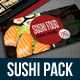 Sushi Restaurant Menu Bundle 02 - GraphicRiver Item for Sale