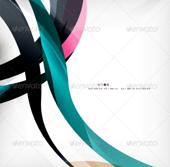 GraphicRiver Business Wave Corporate Background 8471413
