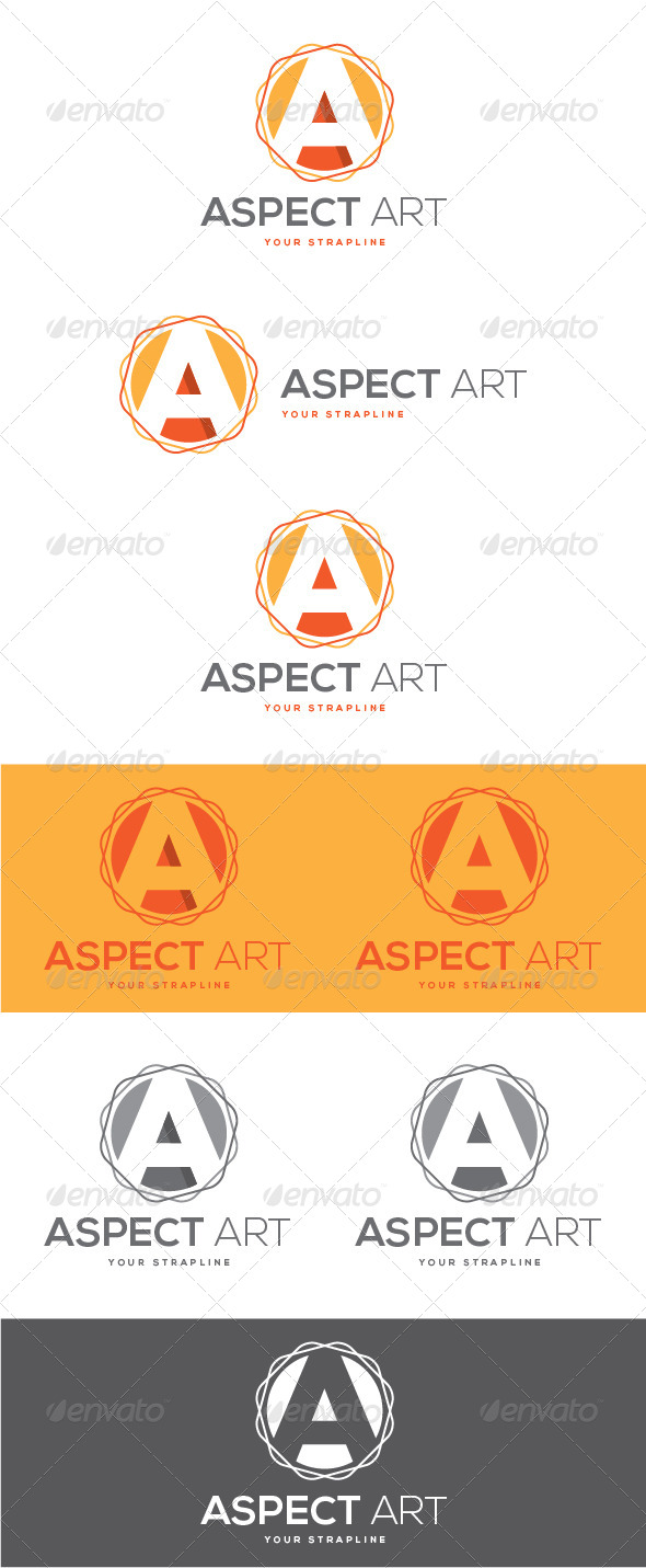 GraphicRiver Aspect Art Letter A Logo 8471417