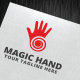 Magic Hand Logo Template - GraphicRiver Item for Sale