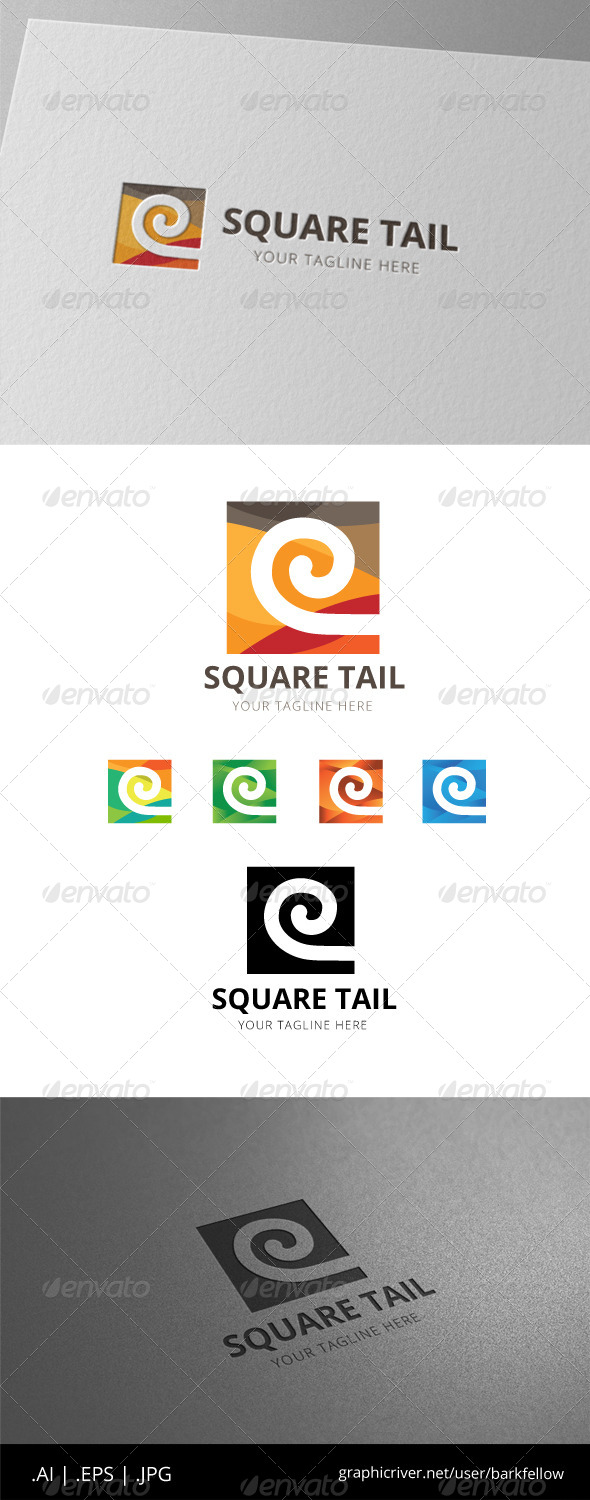 GraphicRiver Square Ethnic Logo 8471835