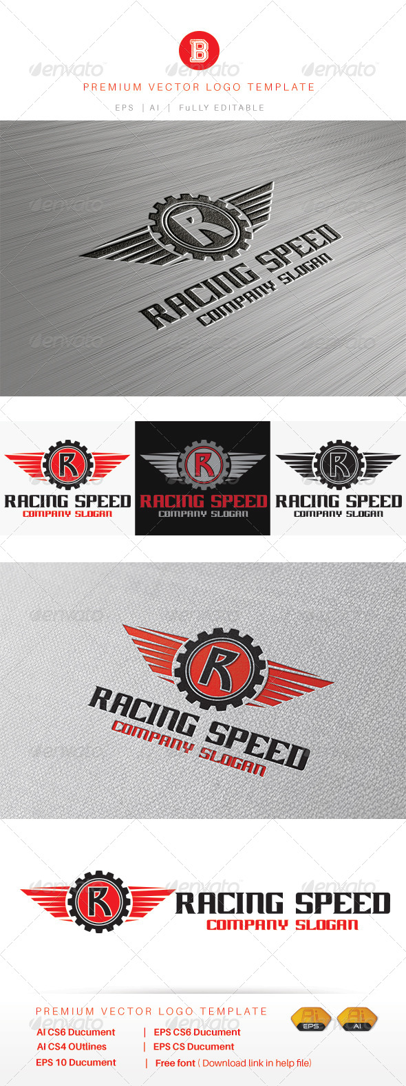 GraphicRiver Racing Speed 8471851