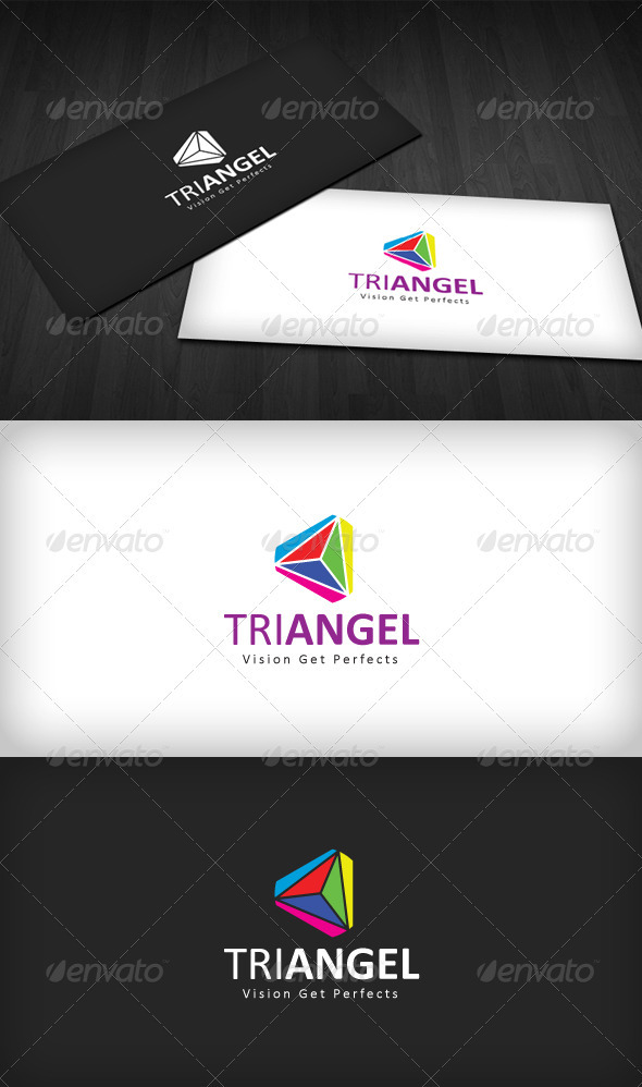 TriAngel Logo - Vector Abstract