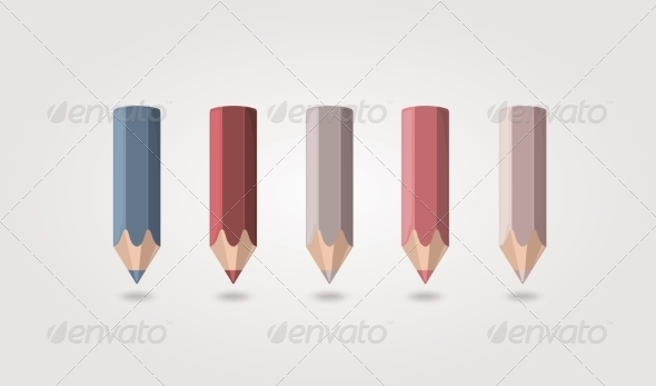 GraphicRiver Colored Pencils 8472367