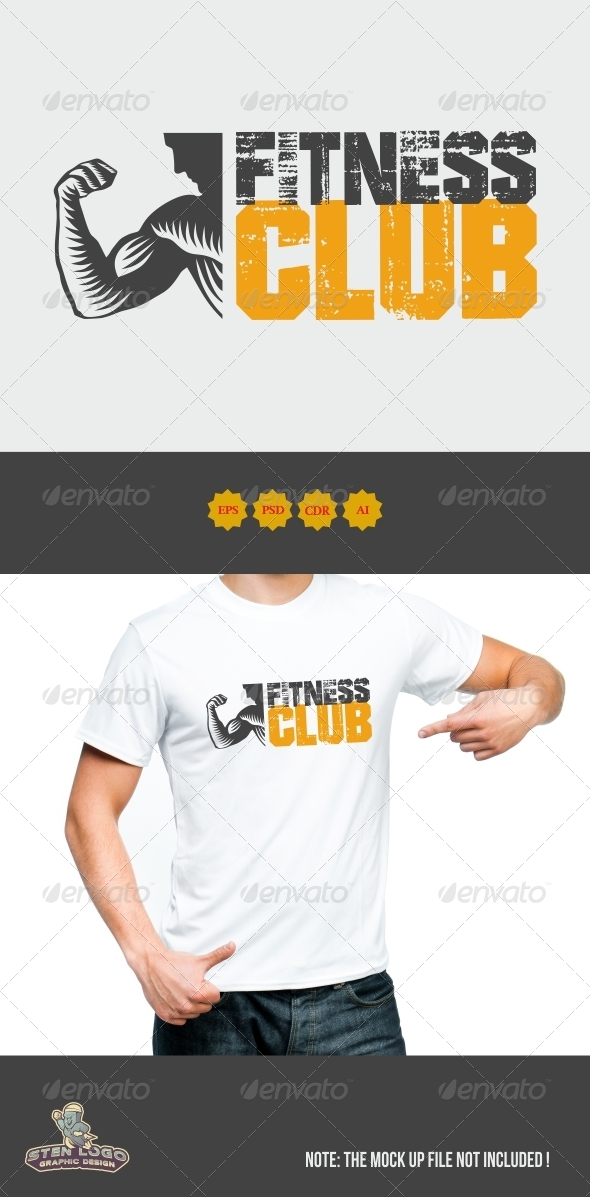 GraphicRiver Fitness Club Logo 8472388