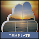 Cloud Photo Frame Template - GraphicRiver Item for Sale
