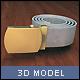 Webbelt - 3DOcean Item for Sale