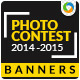 Contest & Survey Banners - GraphicRiver Item for Sale
