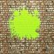 Blot of green paint  - PhotoDune Item for Sale