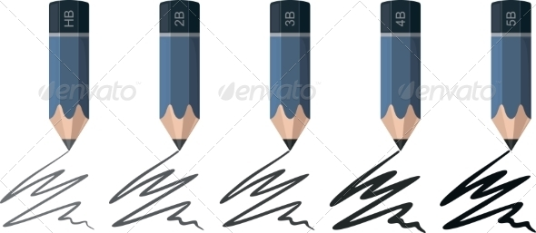 GraphicRiver Colored Pencils 8472667