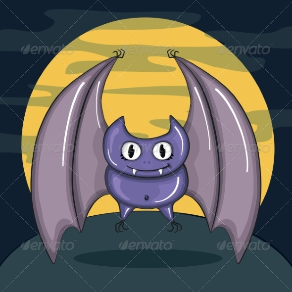 GraphicRiver Vampire Bat 8472731