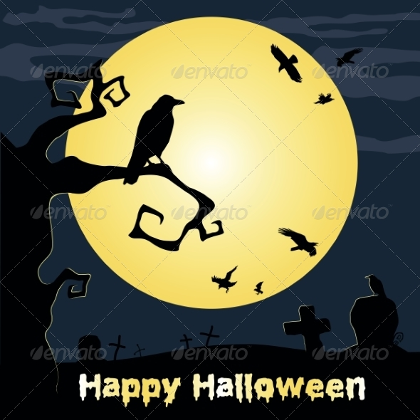 GraphicRiver Happy Halloween Poster 8472870