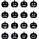 Pumpkins Set for Halloween - GraphicRiver Item for Sale