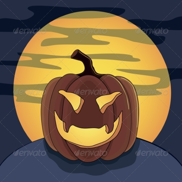 GraphicRiver Halloween Pumpkin 8472955