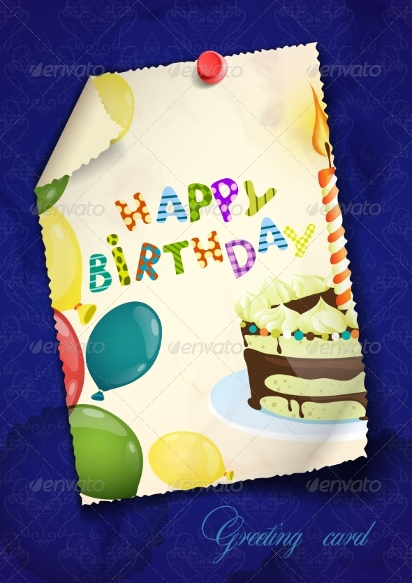 GraphicRiver Greeting Card Design 8473366